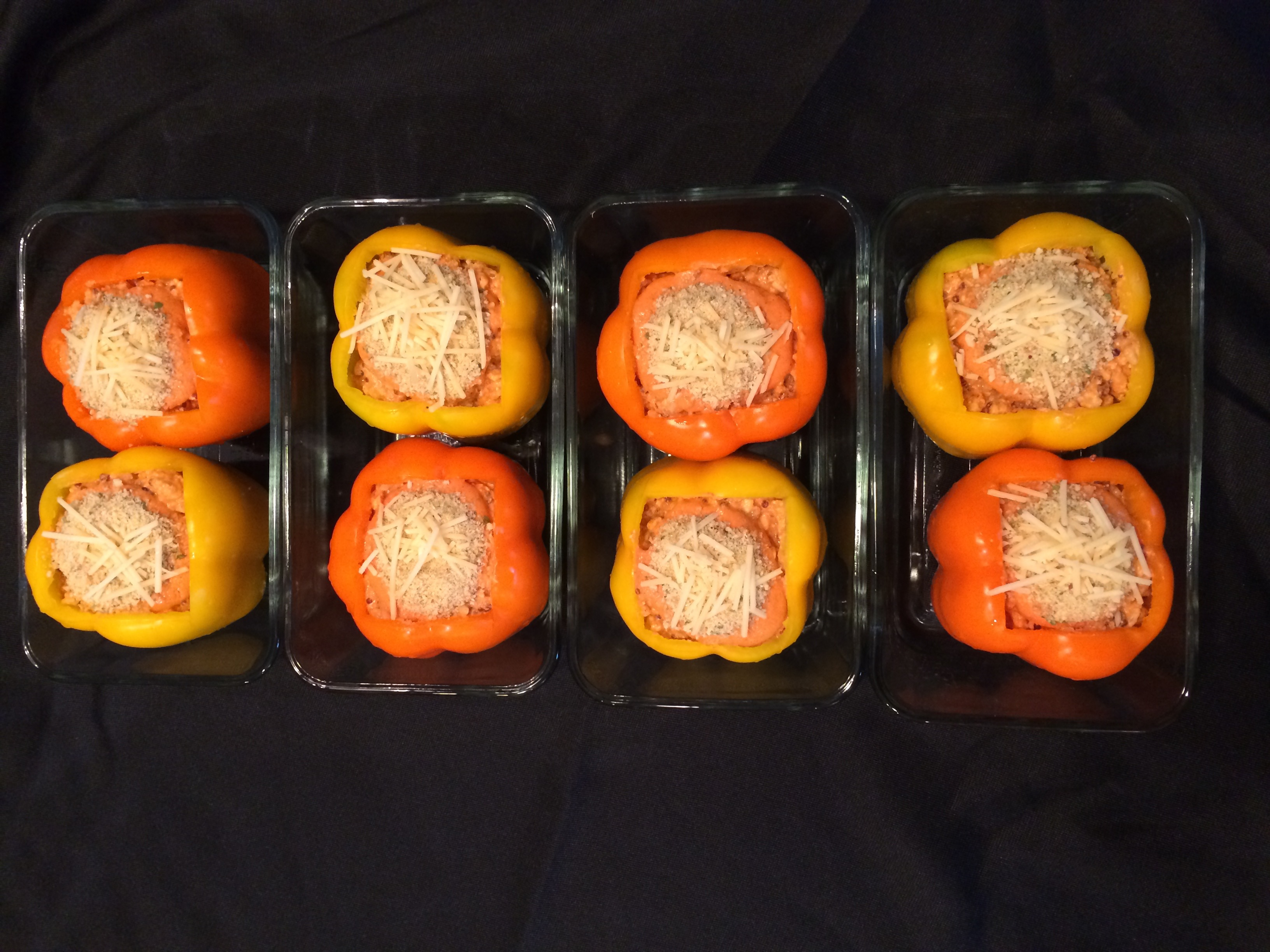 Personal Chef Services_Romesco Stuffed Peppers